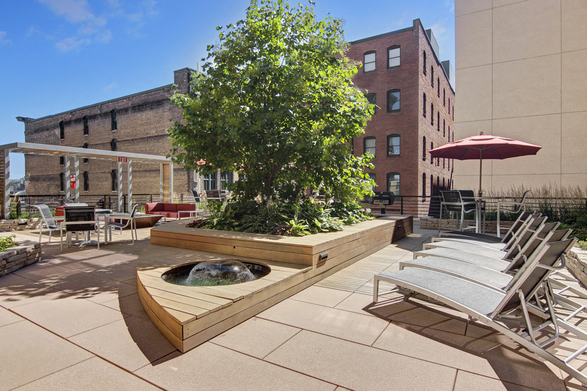 Rooftop Terrace Seating