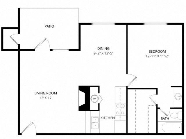 Medium 1 Bedroom