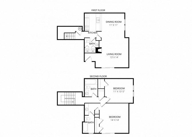 Large Double Townhome