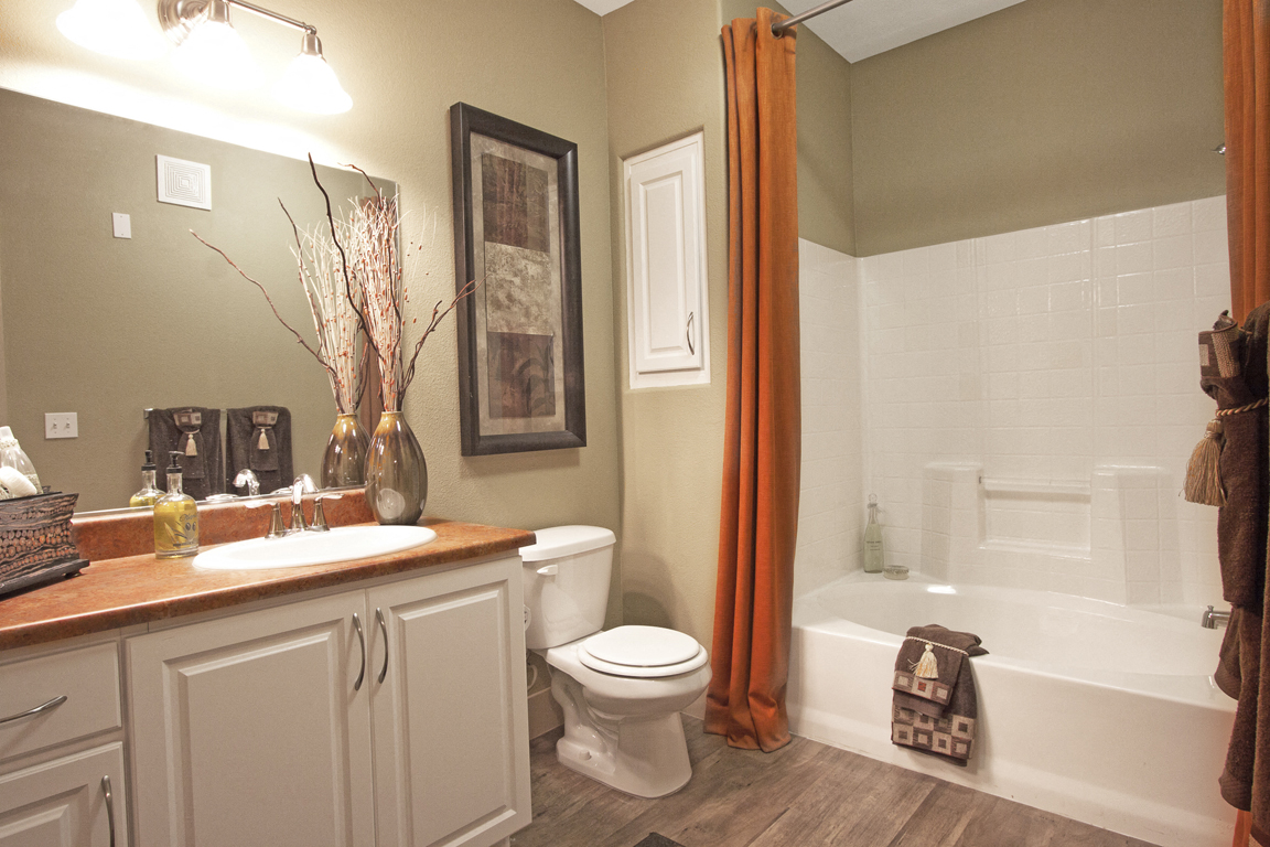 Rancho Belago Guest Bathroom