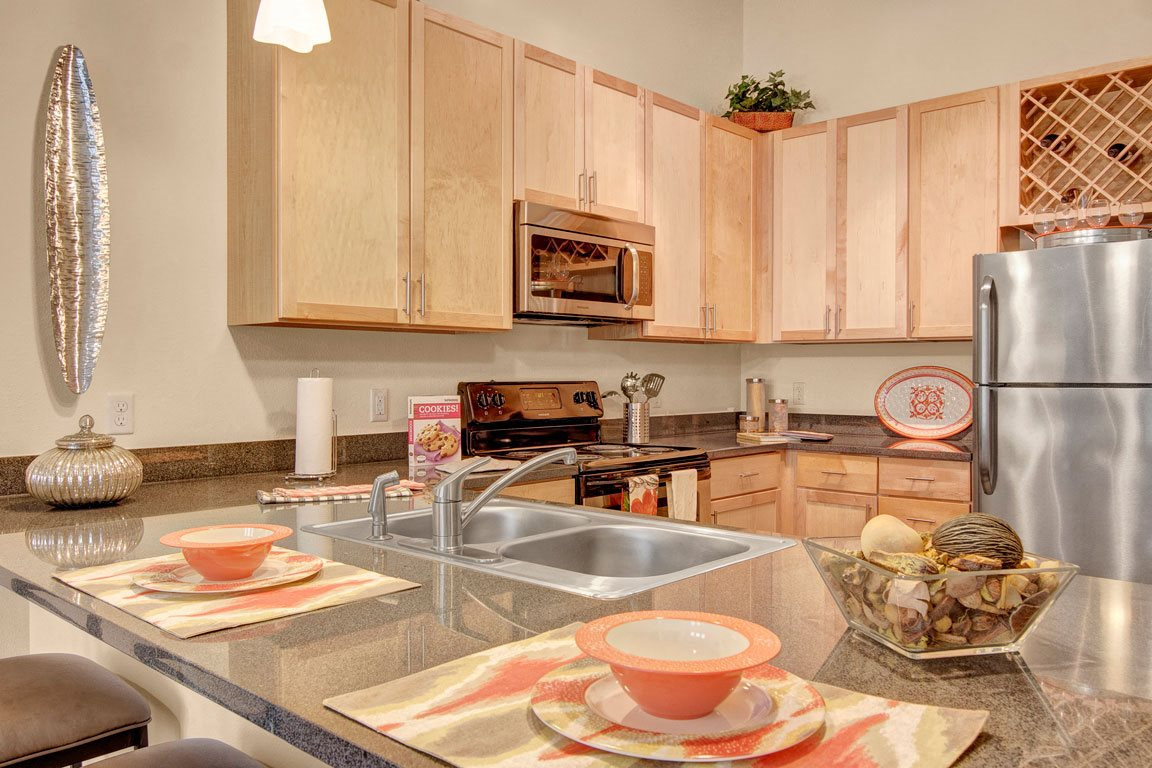Residence At The COR Fully Equipped Kitchen