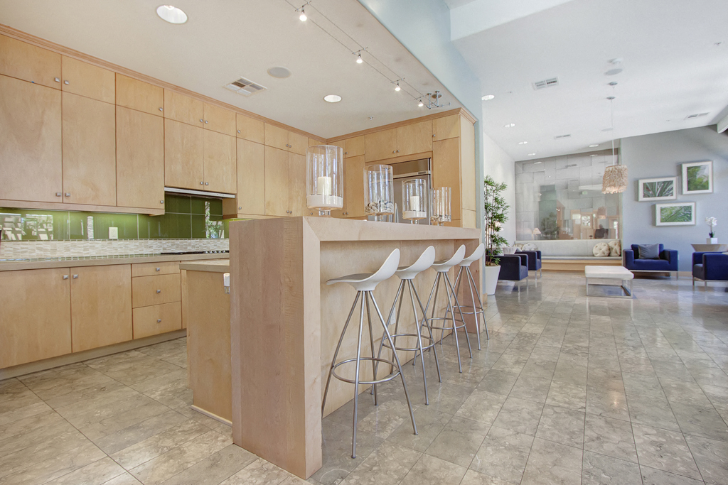 Vesada Resident Lounge Kitchen