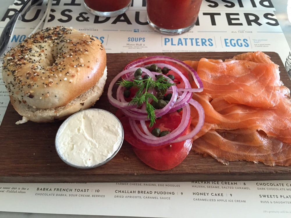 Russ & Daughters - New York, NY, United States. The classic. Amazing!