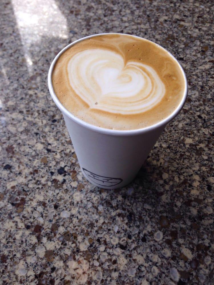Cafe Grumpy - New York, NY, United States. Decaf soy latte