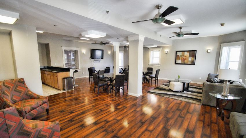 Club Room at Tremont Terraces Apartments ,Integrity Realty LLC,, Ohio, 44113