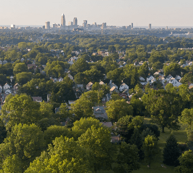Cleveland Neighborhood View from Parma