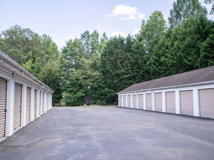 separate garages available