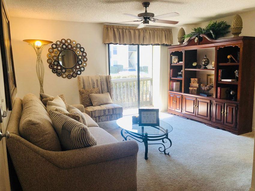 Brookside Manor Apartments Brandon Florida Living Room Sunny
