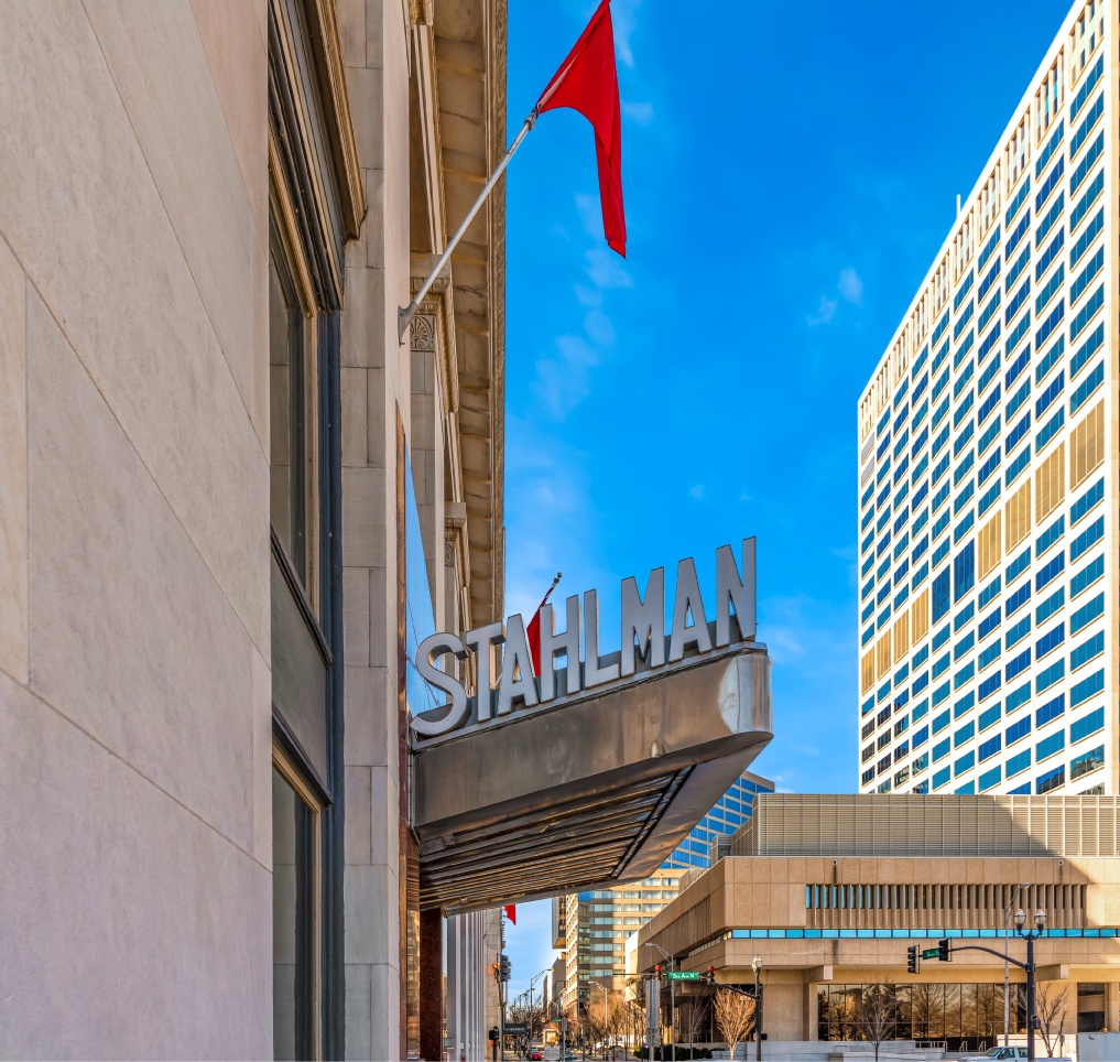 The Stahlman Sign Exterior
