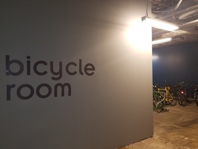 BICYLCE ROOM