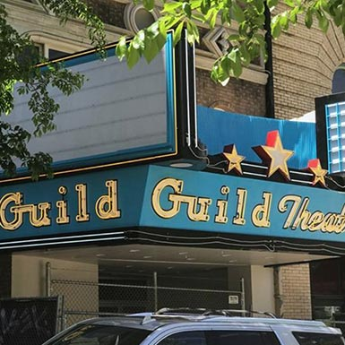 TMT Development's Guild Theatre in downtown Portland, Oregon, was built in 1927.