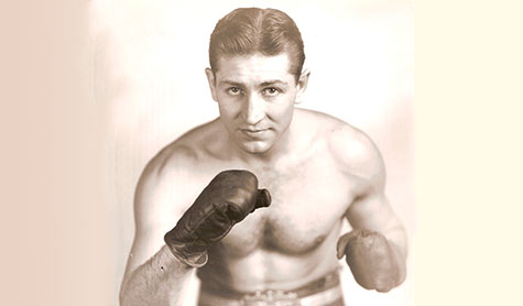 "Portland amateur boxer Thomas ""Tommy"" Moyer in the 1930s."