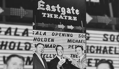 Thomas Moyer opens Eastgate Theater in Portland, Oregon, in the 1960s.