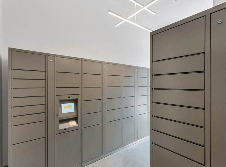 Indoor mail center