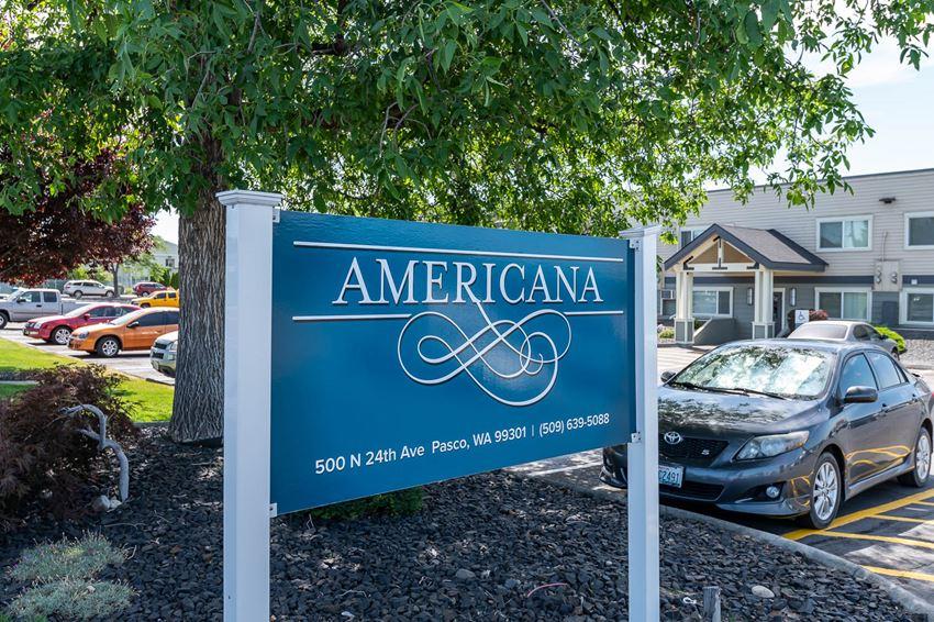 Americana | Monument Sign