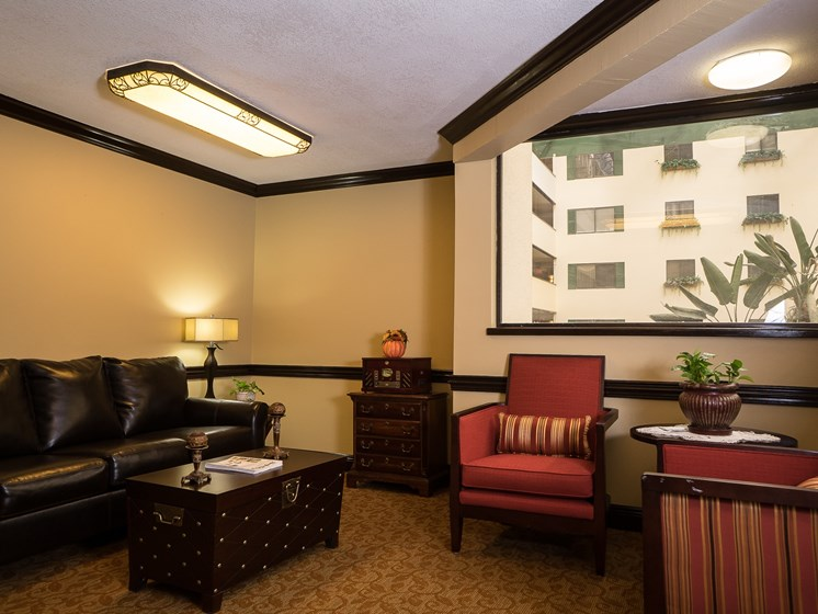 Relax and enjoy yourself at The Meridian at Westwood