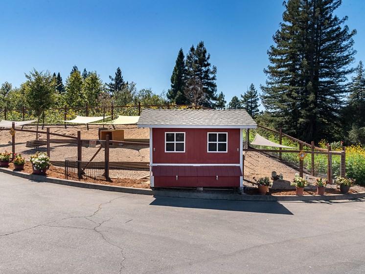 Garden Entry at Healdsburg, A Pacifica Senior Living Community, California, 95448