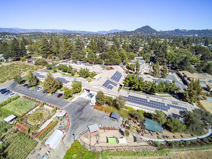 Luxury Senior Apartment Community at Healdsburg, A Pacifica Senior Living Community, Healdsburg, CA, 95448
