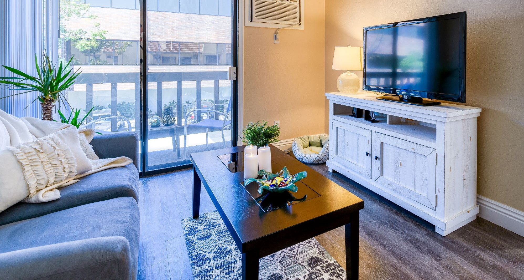 One of our luxurious living rooms at Pacifica Alta Vista