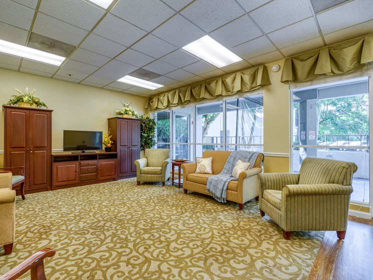 Relax in comfort at Pacifica Senior Living Sunrise.