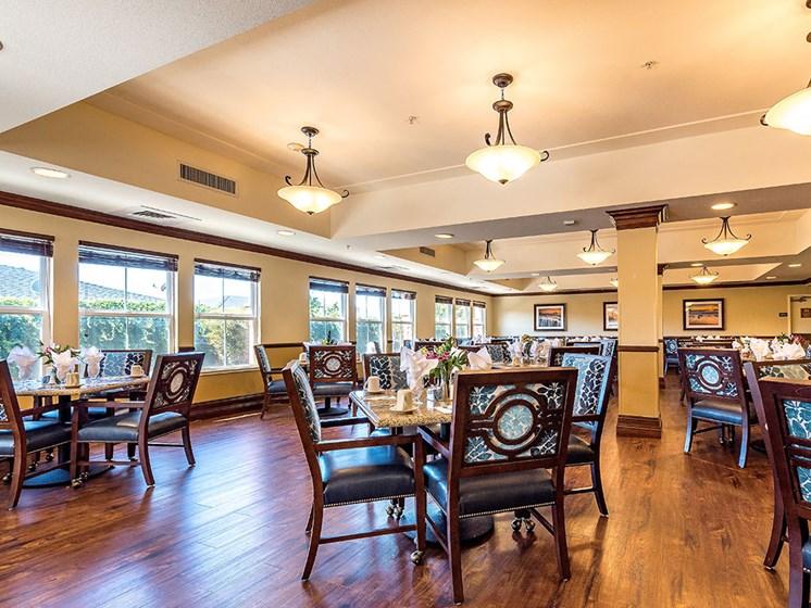 Common Lounge Area at Pacifica Senior Living Union City, California, 94587
