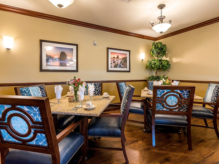Formal Dining Area at Pacifica Senior Living Union City, Union City, 94587
