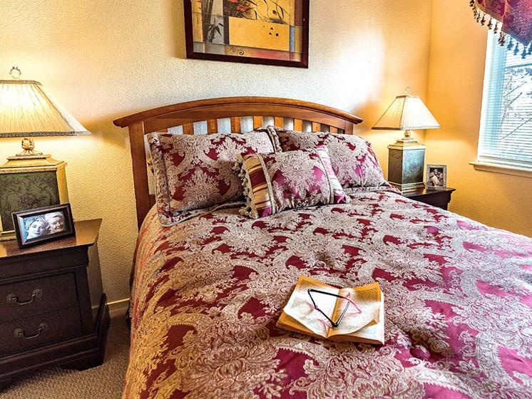Gorgeous Bedroom at Pacifica Senior Living Union City, Union City, California