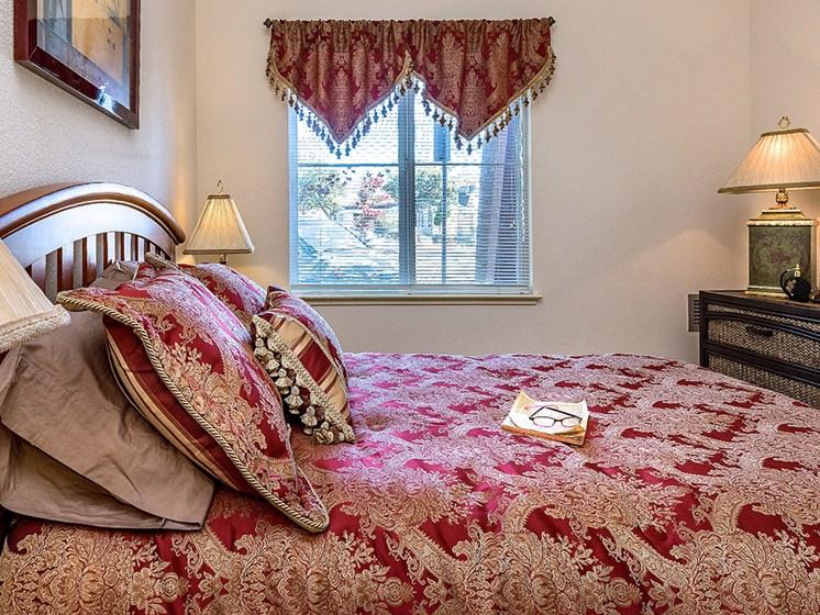 Lavish Bedroom at Pacifica Senior Living Union City, California, 94587