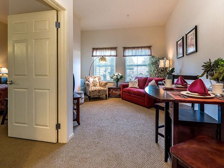 Beautiful Hallway Area at Pacifica Senior Living Union City, Union City, California