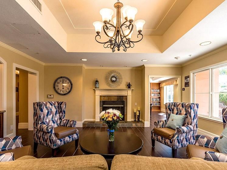 Classic Lounge Design at Pacifica Senior Living Union City, California, 94587