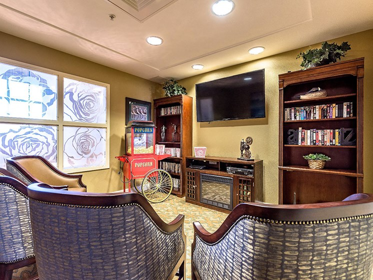 Multi Activity Room at Pacifica Senior Living Union City, California, 94587