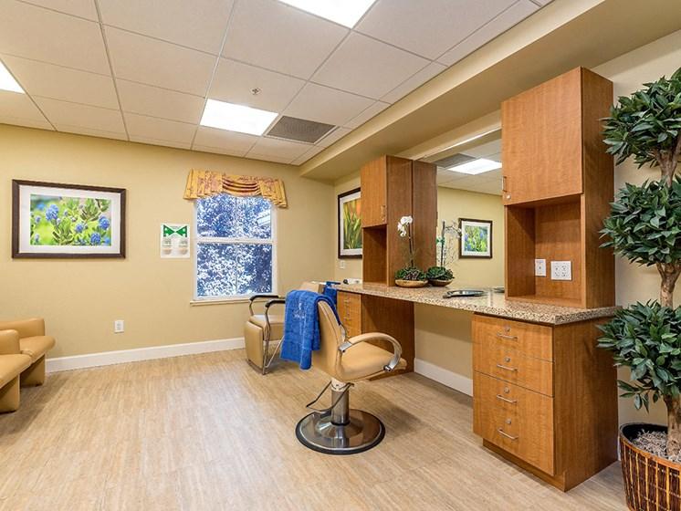 Styling Salon at Pacifica Senior Living Union City, Union City, CA