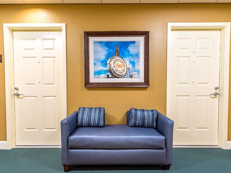 Comfy Sofa at Pacifica Senior Living Union City, Union City