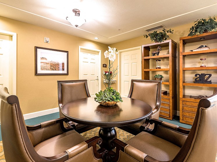 Comfortable Chairs For Media Room at Pacifica Senior Living Union City, California, 94587