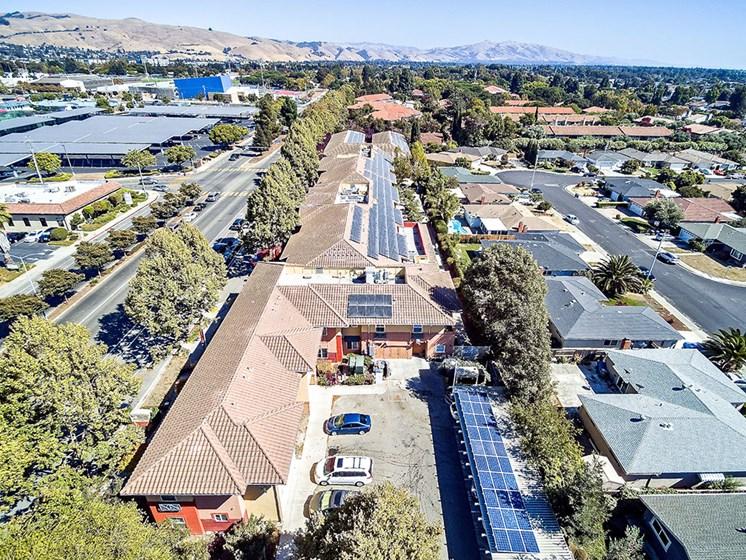 Breathtaking View Of Community at Pacifica Senior Living Union City, Union City, California