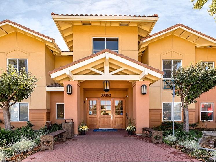 Exquisite Exterior at Pacifica Senior Living Union City, California