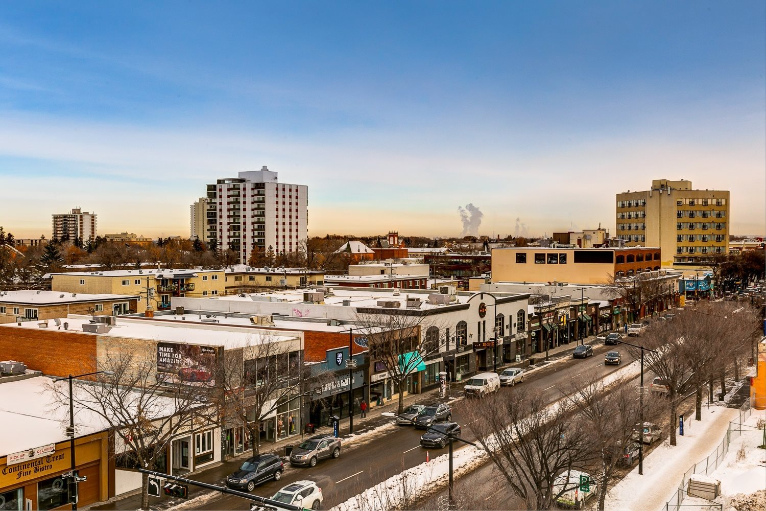East View from Southpark - Whyte Avenue
