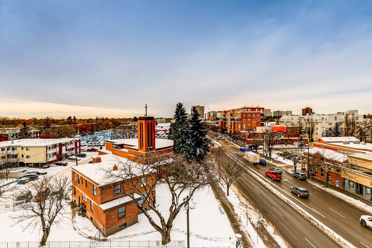 West View from Southpark - Whyte Avenue