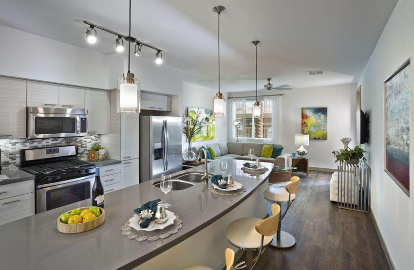 Avion on Legacy - Scottsdale, AZ - quartz counter tops and stainless steel appliances