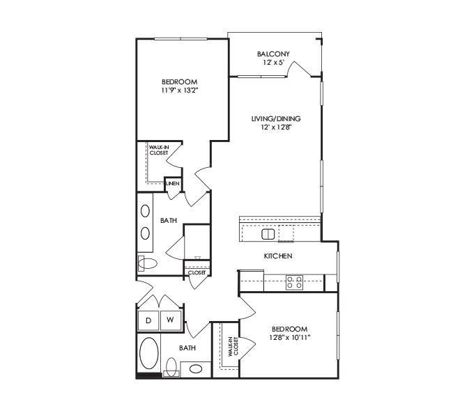 Dwell at McEwen - Franklin, TN - B9 Floor Plan