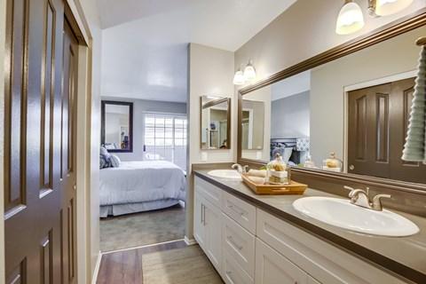 Spacious Bathroom Layouts At Vista Promenade Luxury Apartment Homes in Temecula, CA