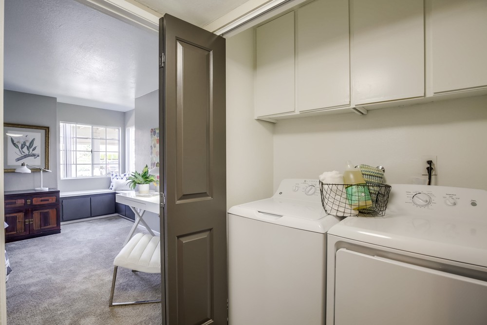 In-Unit Washer & Dryer Sets At Vista Promenade Luxury Apartment Homes in Temecula, CA