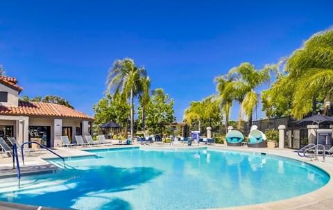 Resort-Inspired Pool At Vista Promenade Luxury Apartment Homes in Temecula, CA