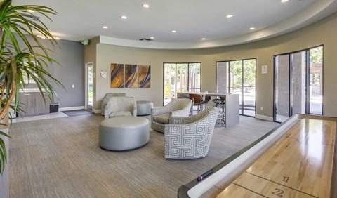 WiFi & Gaming Lounge At Vista Promenade Luxury Apartment Homes in Temecula, CA