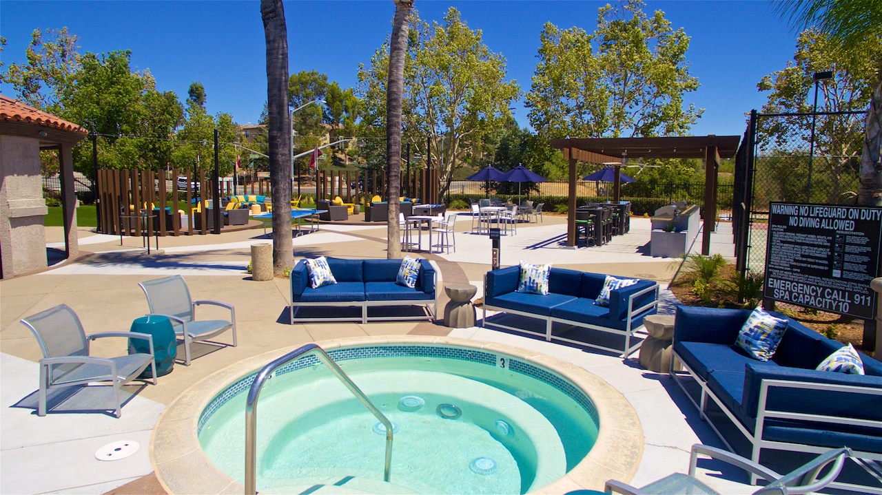 Resort Style Spas At Vista Promenade Luxury Apartment Homes in Temecula, CA