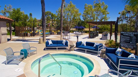 Resort Style Spas At Vista Promenade Luxury Apartment Homes in Temecula, CA