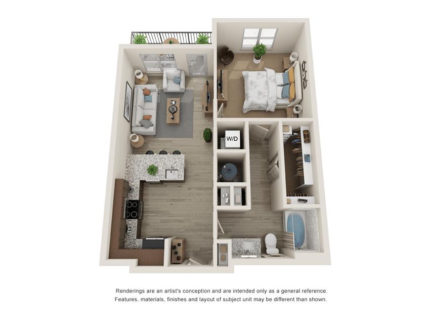 Westloop A1 Floor Plan