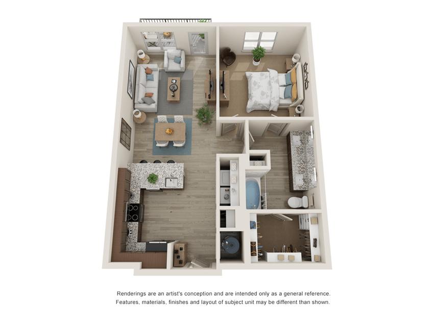Westloop A2 Floor Plan