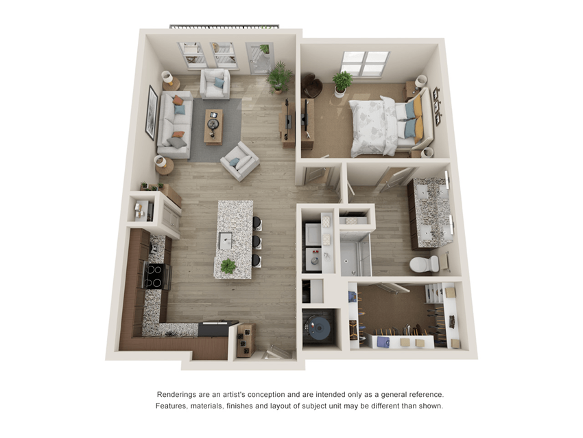 Westloop A3 Floor Plan