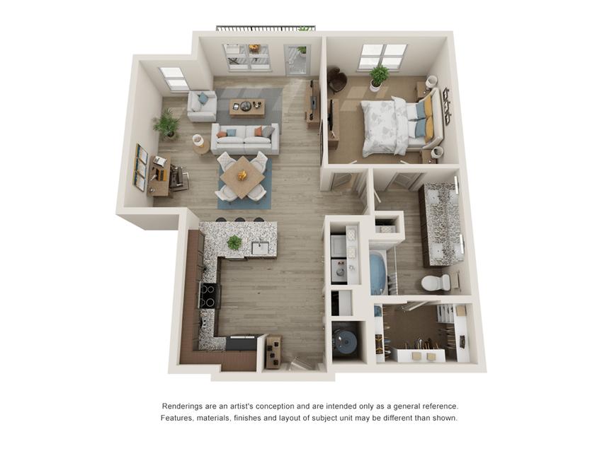 Westloop A4 Floor Plan